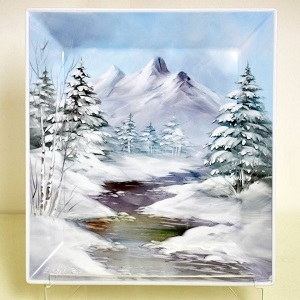 STUNNING ACRYLIC MOUNTAIN PHOTO BLOCKS